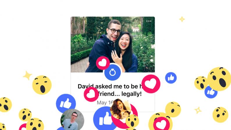 Nowe sposoby dzielenia się wydarzeniami z życia na Facebooku