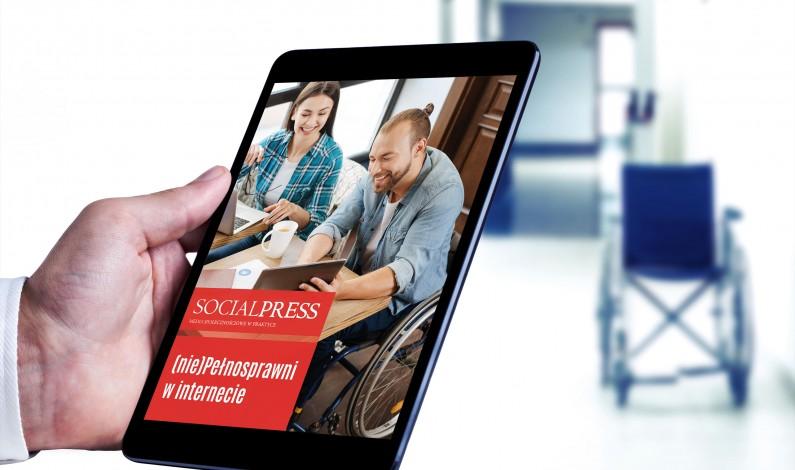 """Jak technologie pomagają osobom z niepełnosprawnościami? Raport """"(nie)Pełnosprawni w internecie"""""""