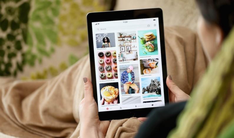Pinterest publikuje dane na temat wyszukiwań wizualnych