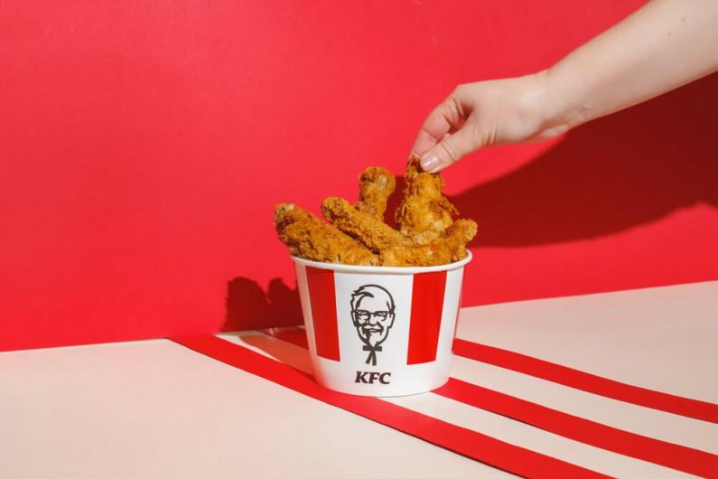 Oryginalna akcja KFC Polska na Facebooku