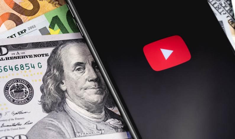 Ile na reklamach zarobił YouTube w roku 2019?