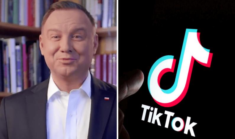 Prezydent Andrzej Duda dołącza do społeczności TikToka