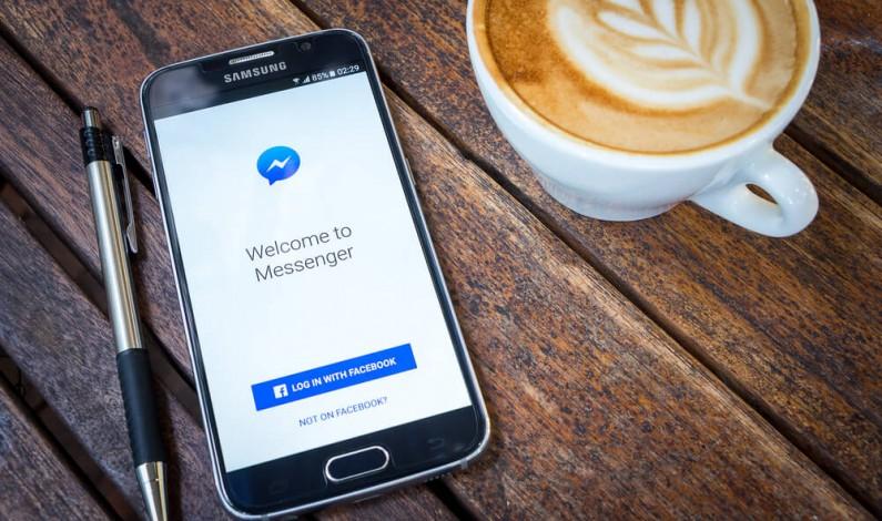 Facebook z mniejszym komunikatorem na iOS