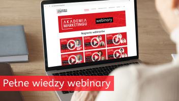 Majowe webinary Akademii Marketingu