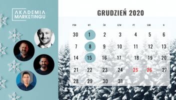 O czym będą ostatnie w 2020 roku webinary Akademii Marketingu?