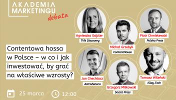 Jak będzie wyglądał wzrost rynku content marketingu w Polsce? Debata Akademii Marketingu