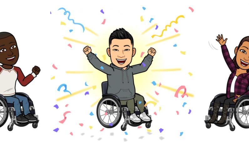 Na Snapchacie pojawią się animacje wózków inwalidzkich dla awatarów Bitmoji