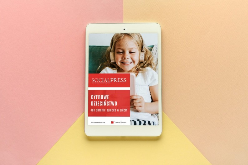 """Raport: """"Cyfrowe dzieciństwo. Jak chronić dziecko w sieci?"""""""