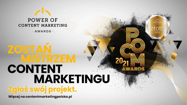 Ruszyły zgłoszenia do konkursu Power of Content Marketing Awards 2021