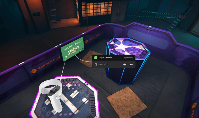 Trwają testy reklam w świecie VR na Facebooku