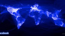 facebook mapa świat rozwój