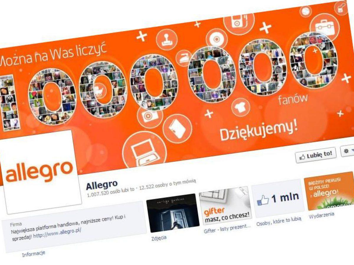Facebookowicze Reklamuja Allegro Nie Wiedzac O Tym Socialpress