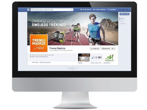 Rys. 5. Profil serwisu Trenuj Mądrze na Facebooku