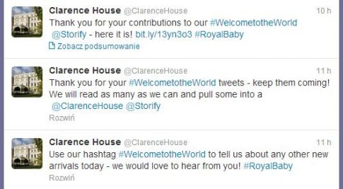 fot. twitter.com/ClarenceHouse