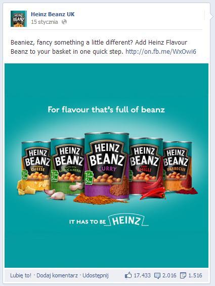 fot. Facebook.com/heinzbeanz