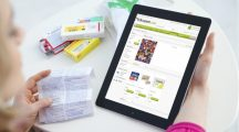 E-commerce medication - tablet news content