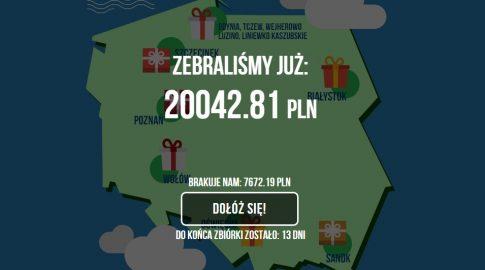 Akcja #dladzieciaków, źródło: dladzieciakow.paylane.pl