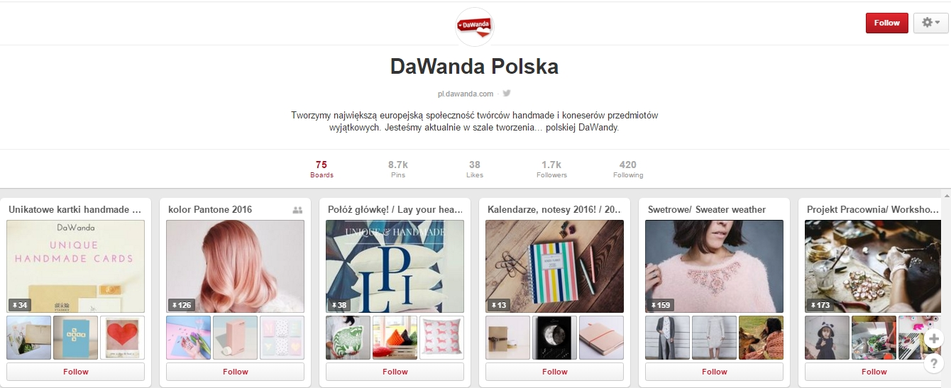 https://pl.pinterest.com/dawandapl/