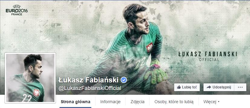 www.facebook.com/LukaszFabianskiOfficial/