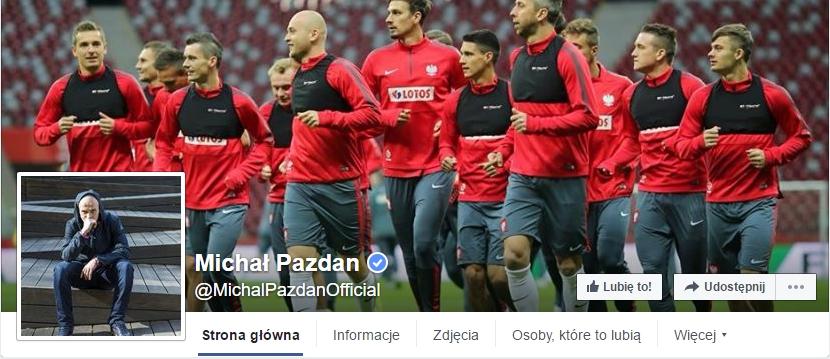 www.facebook.com/MichalPazdanOfficial/