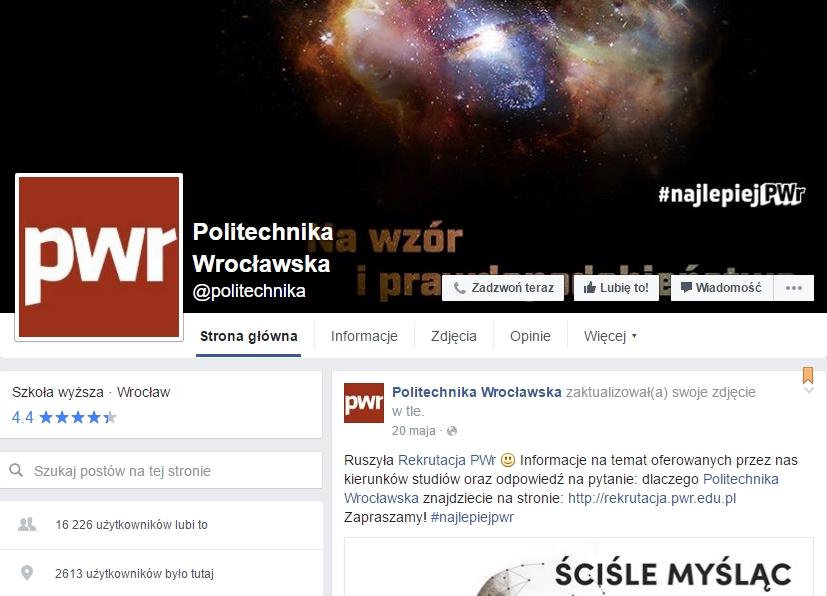www.facebook.com/politechnika