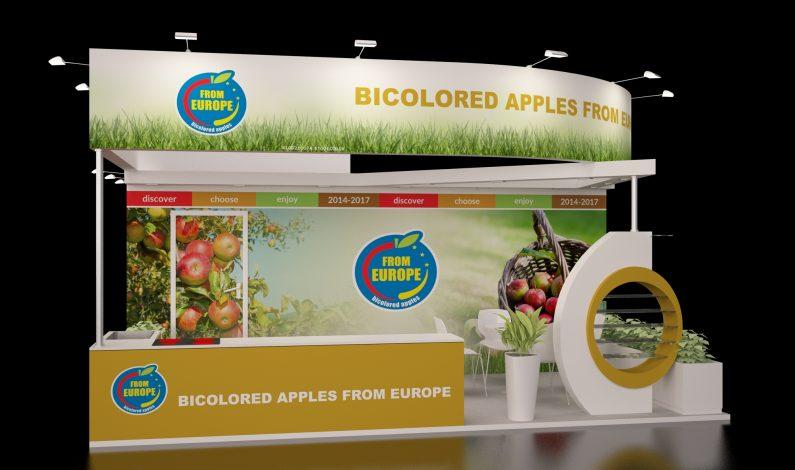 Stoisko-promocyjne-Europejskie-Jabłka-Dwukolorowe
