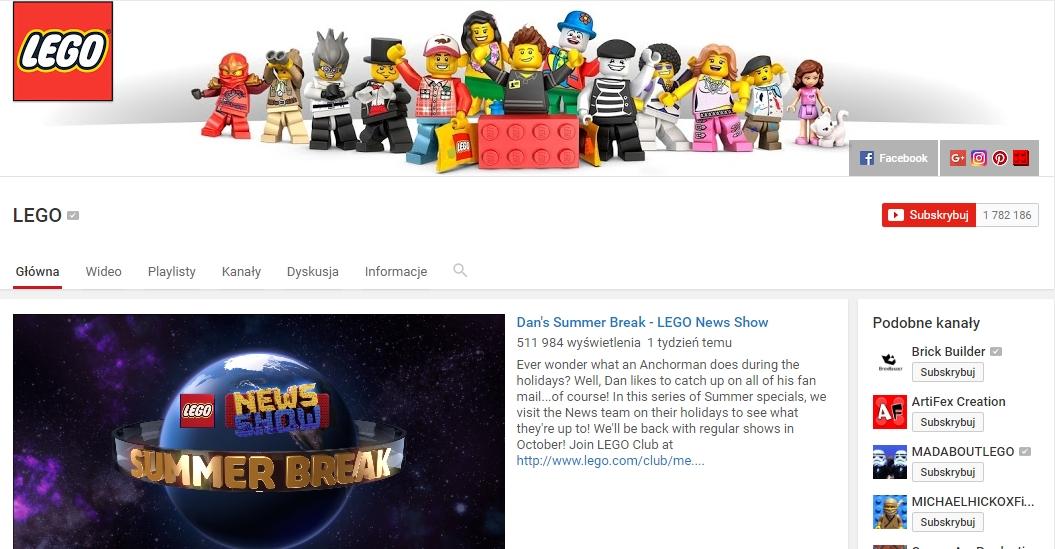 https://www.youtube.com/user/LEGO