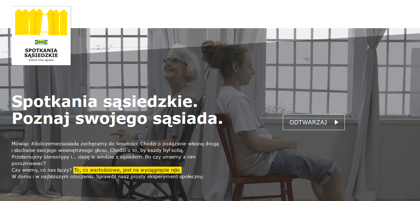 Spotkania Sasiedzkie Czyli Kolejna Akcja Ikea Skazana Na Sukces