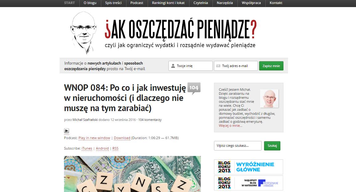 fot. jakoszczedzacpieniadze.pl