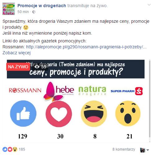 fot. facebook.com/Promocje.w.drogeriach