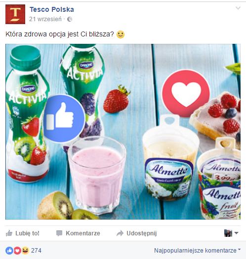 fot. facebook.com/TescoPolska