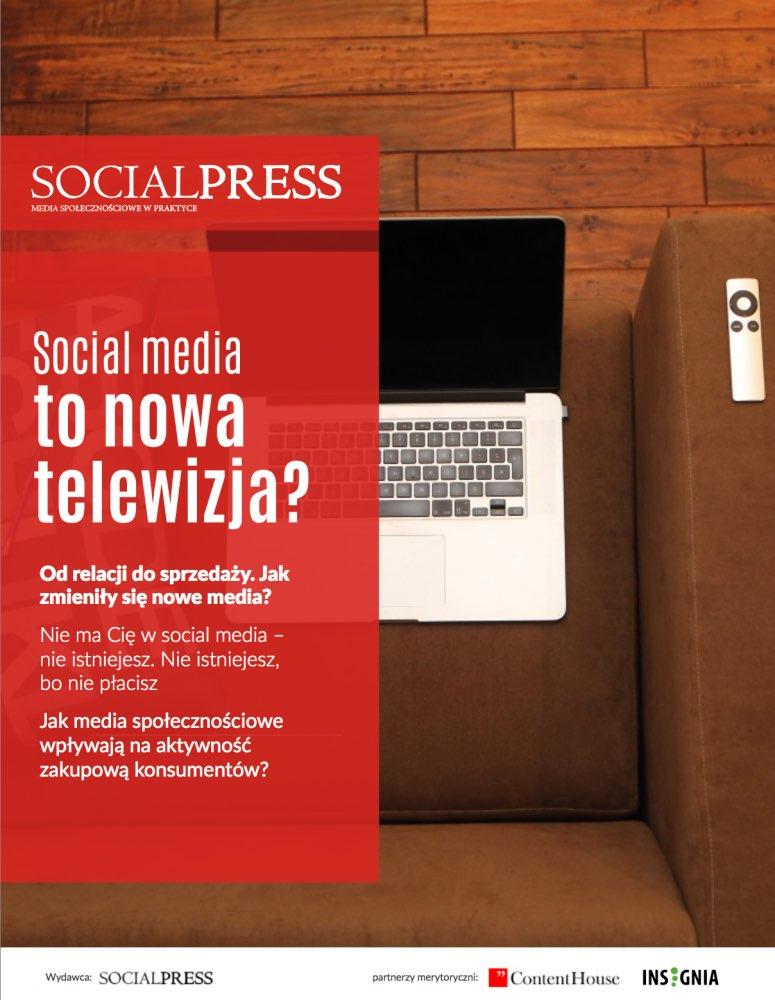 Social media to nowa telewizja? Raport