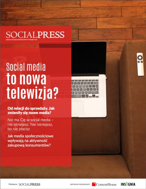 Social media to nowa telewizja