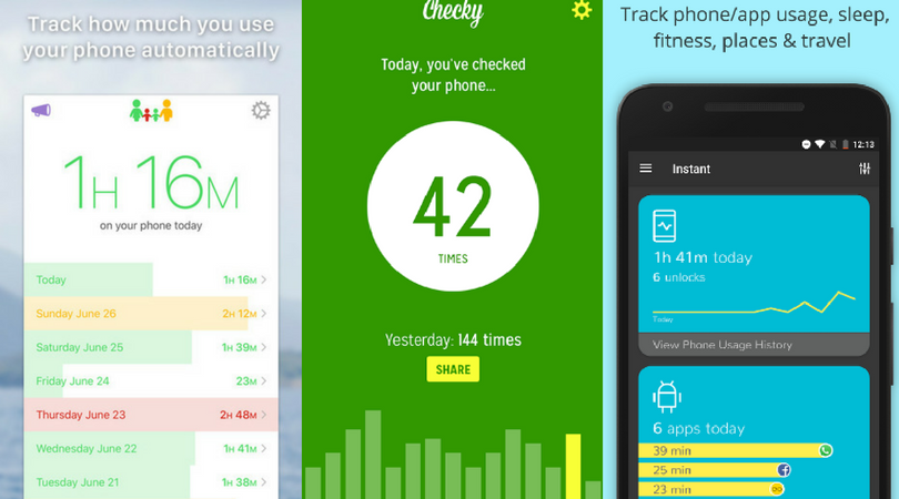 Moment/Checky/Instant - Quantified Self