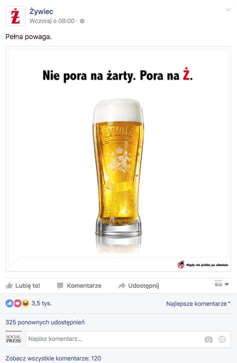 fot. facebook.com/ZywiecMeskimZdaniem