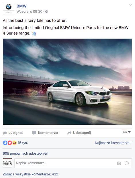 fot. facebook.com/BMW