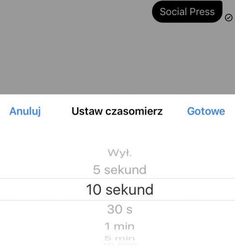 fot. screen z aplikacji Messenger