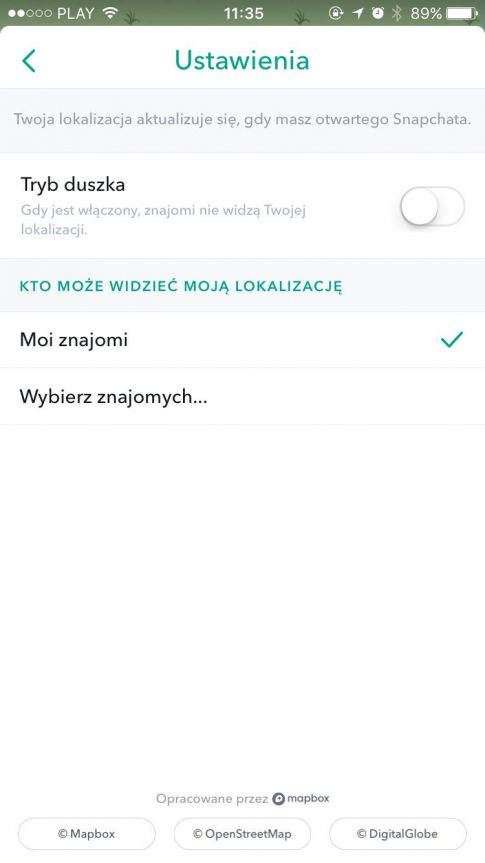 fot. screen Snapchat