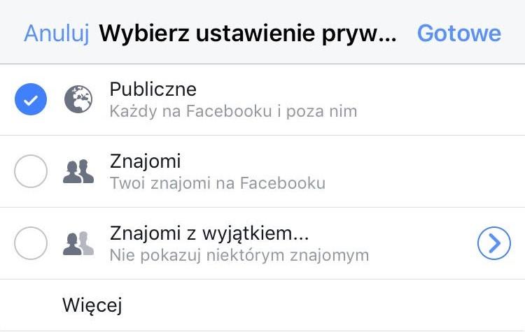 fot. screen Facebook