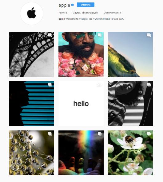 apple profil