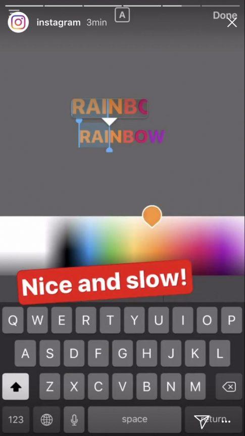 fot. screen z aplikacji Instagram