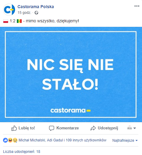 źródło: facebook.com/CastoramaPolska