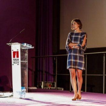 Marta Sułkiewicz podczas Forum IAB 2018