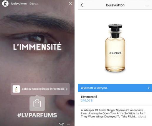 źródło: Stories @louisvuitton na Instagramie