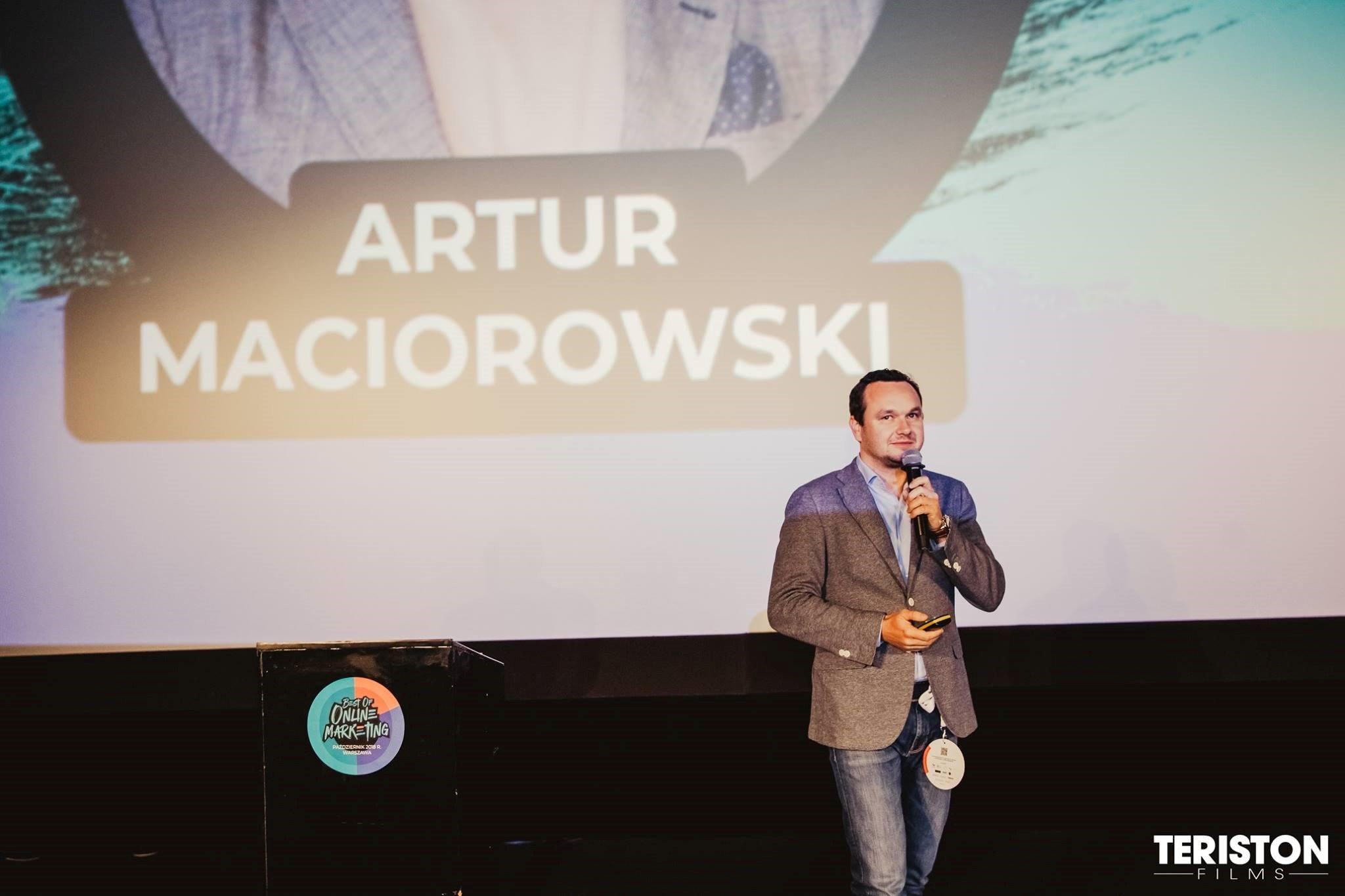Artur Maciorowski, źródło: materiały od organizatora