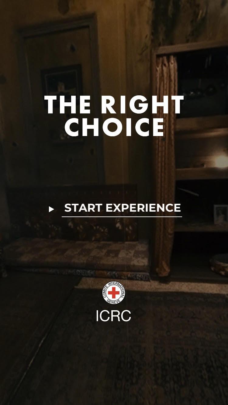 źródło: zrzut ekranu z aplikacji The Right Choice