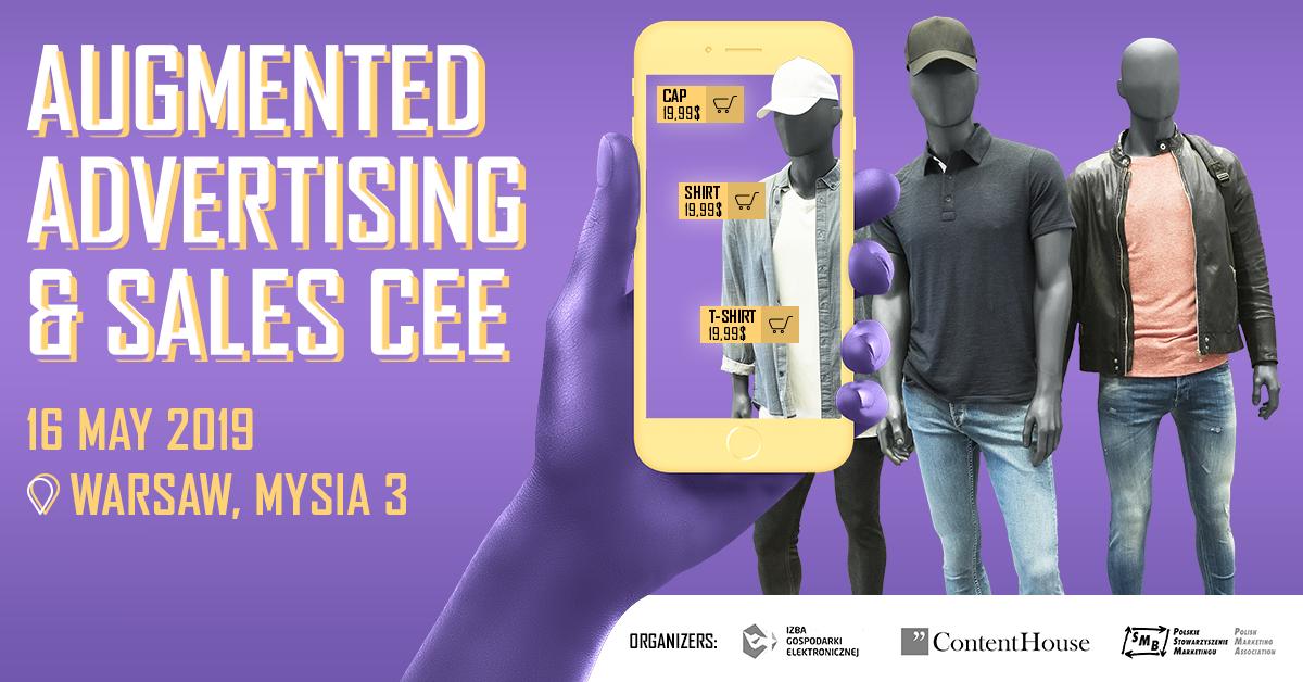 Augmented Advertising & Sales – pierwsza w rejonie CEE konferencja o AR i VR w marketingu oraz sprzedaży, Komerso.pl