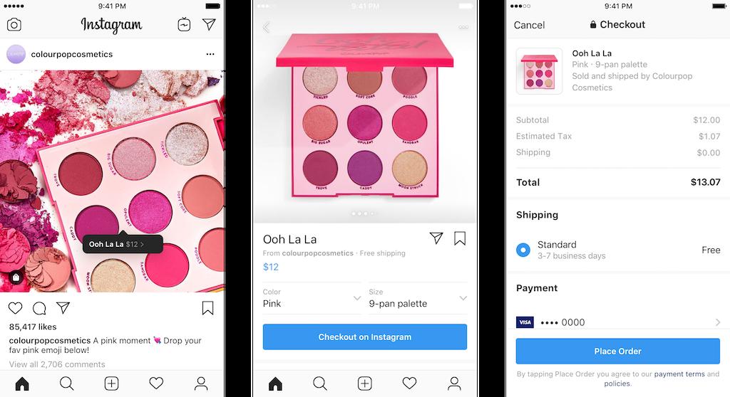 Instagram umożliwi bezpośrednie zakupy w aplikacji, Komerso.pl