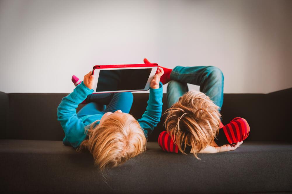 dzieci, tablet