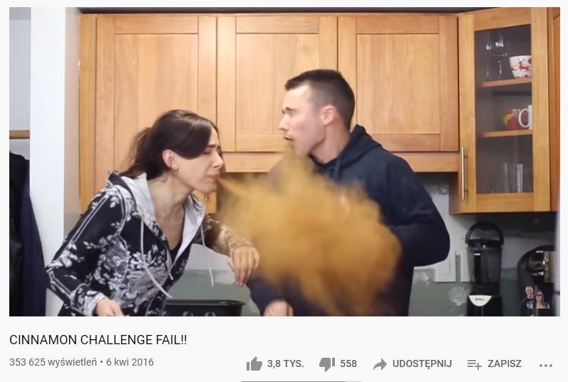 Cinnammon Challenge